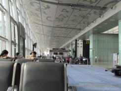 Netaji Subhas Chandra Bose International Airport in Kolkata, India.