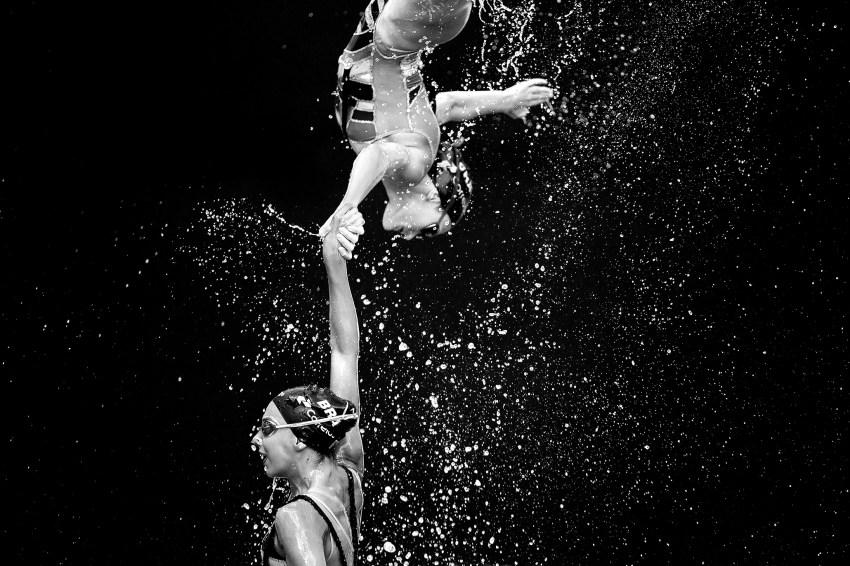 Mundial de Nado Sincronizado 2015. ©Leandra Benjamin