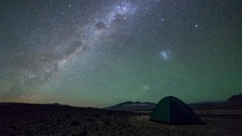 Carpa y galaxias