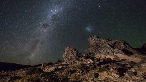 Form. rocosas y Vía Láctea