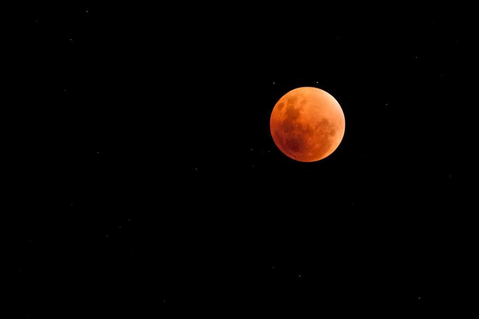 Planificación de un time-lapse de un eclipse total de luna