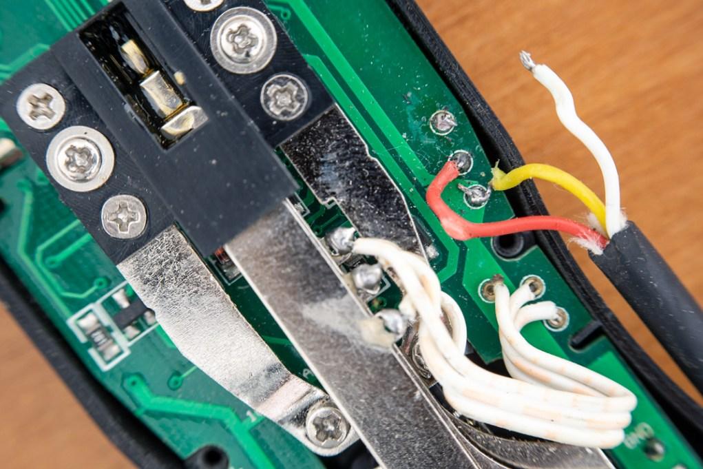 Cable desoldado