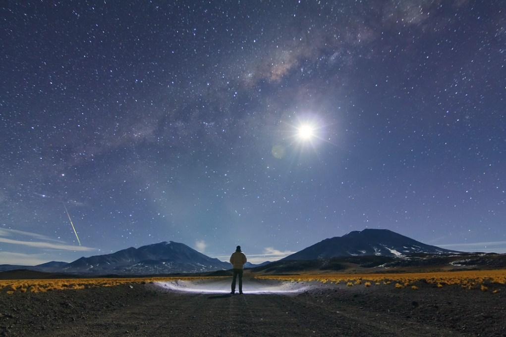 Dónde y cómo encontrar la Vía Láctea