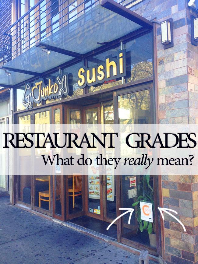 Restaurant Grades