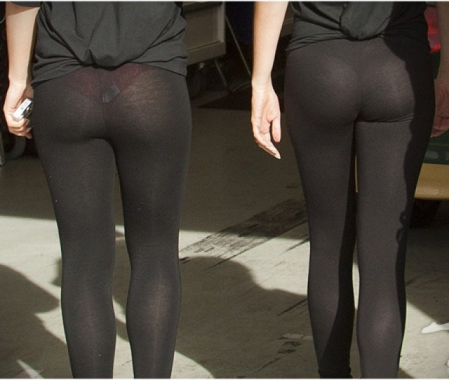 Fitness Trends To Say Goodbye To In  See Thru Yoga Pants