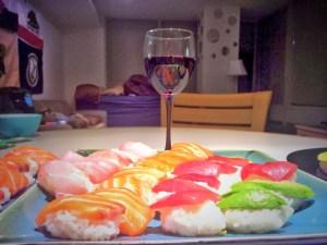 Homemade Nigiri Sushi