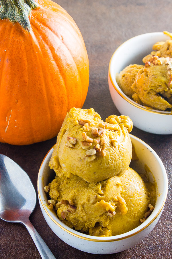 Pumpkin Spiced Nice Cream