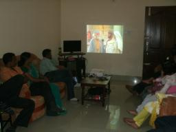 Film Showing at Home