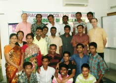 Grace Bible College Students with some guest teachers