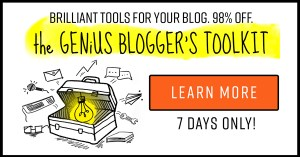 Get Genius Bloggers Toolkit