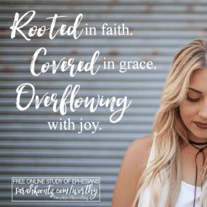 Day 01 Quote Graphic Ephesians Study