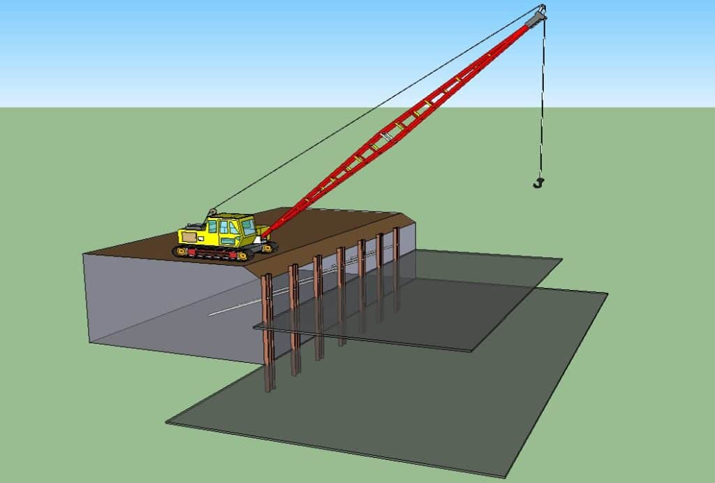 Crane Location