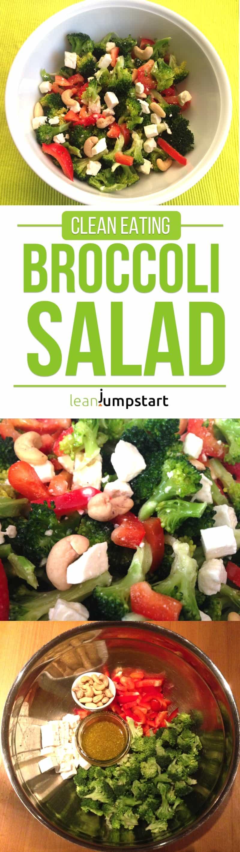 broccoli salad: delicious clean eating salad recipe