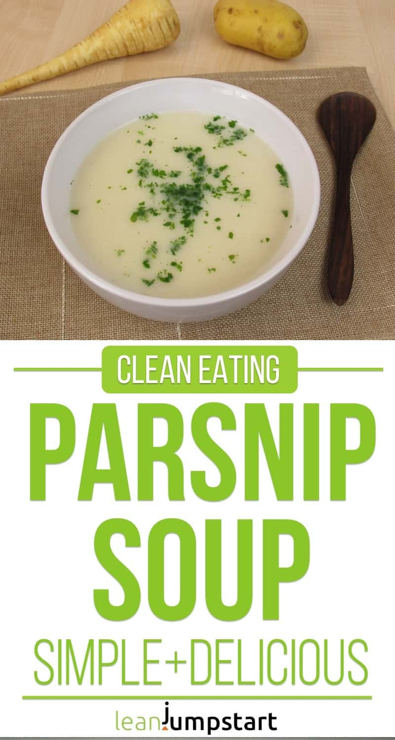 clean eating parsnip soup recipe