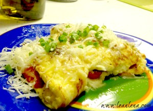 Recipe: Omelette with Mushrooms and Grape Tomatoes plus Some Exciting News from the Blog World