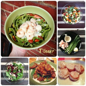 What's on My Plate Wednesday – Eats of the Past Week