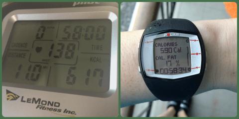 11 sweaty miles!