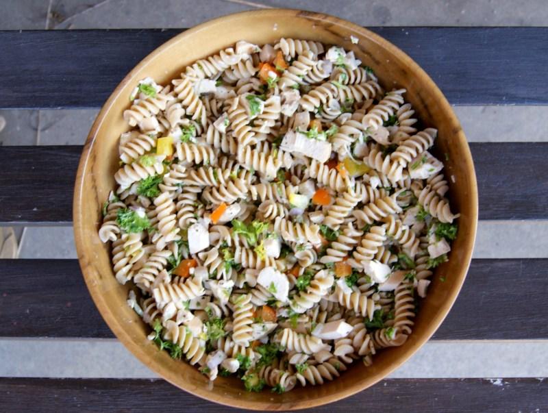 Tasty Tuesday: 10-minute Chicken Pasta Salad Recipe