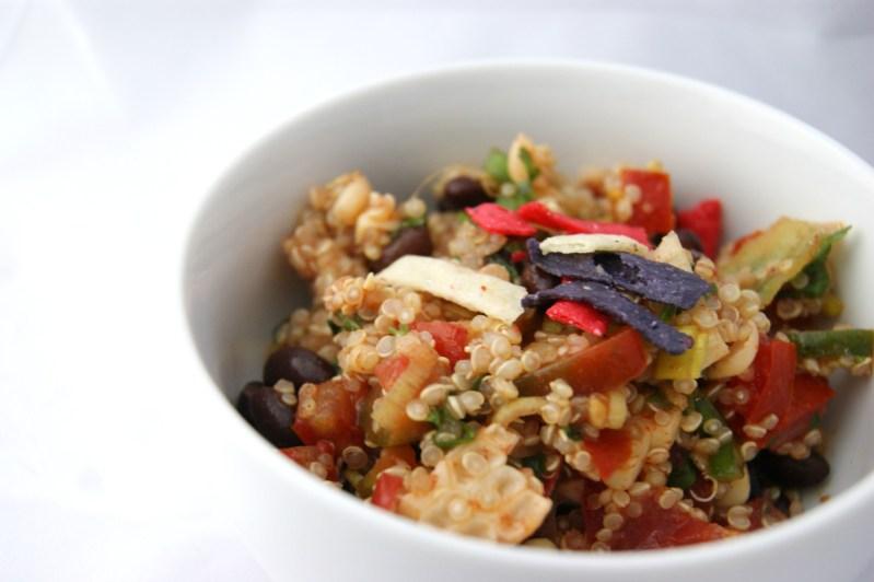 Tasty Tuesday Linkup Party and Quinoa Taco Salad Recipe