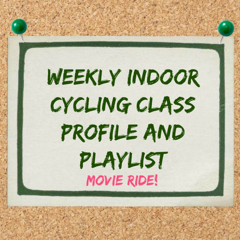Indoor Cycling Class Profile: Movie Ride