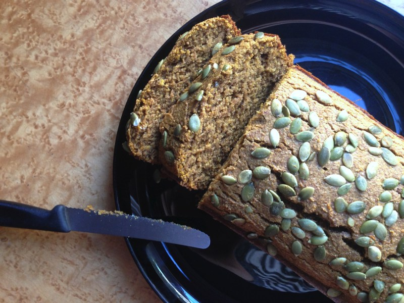 Pumpkin Bread Recipe and Tasty Tuesday Linkup