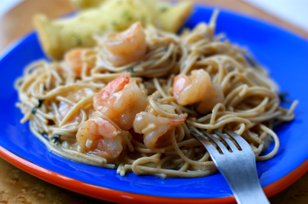 One Pot Pasta with Shrimp Recipe