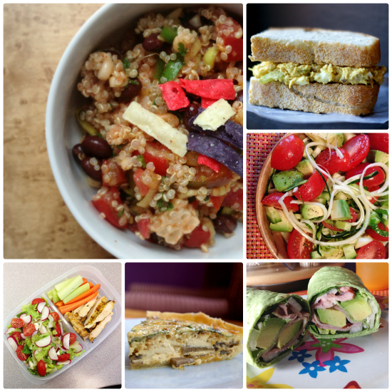 Healthy Lunches: 6 Days for 4 Weeks