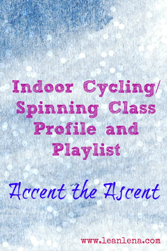 Accent the Ascent Cycling Class Profile #43