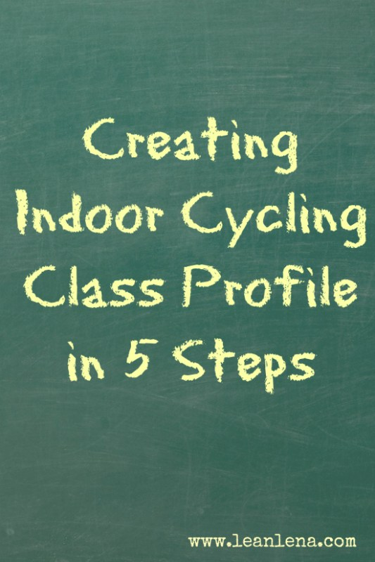 Creating Indoor Cycling Class Profile in 5 Steps