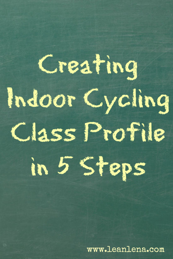 creatin gindoor cycling class profile