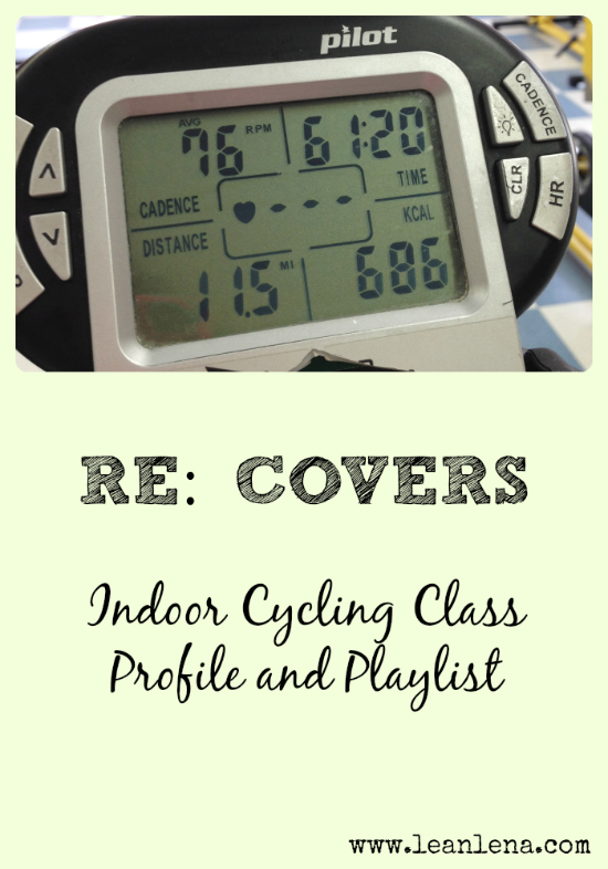 Pyramid Class Profile for Indoor Cycling – RE: Covers