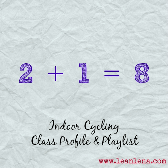 Pyramid Cycling Class Profile: 2+1=8