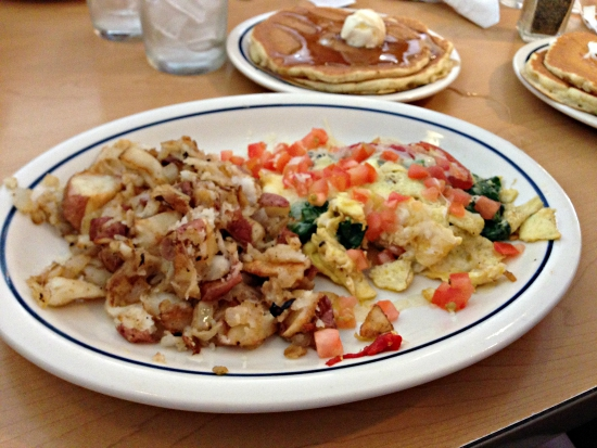 eating in california