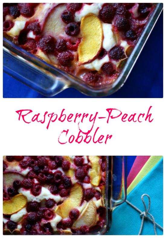 Raspberry-Peach Cobbler Recipe