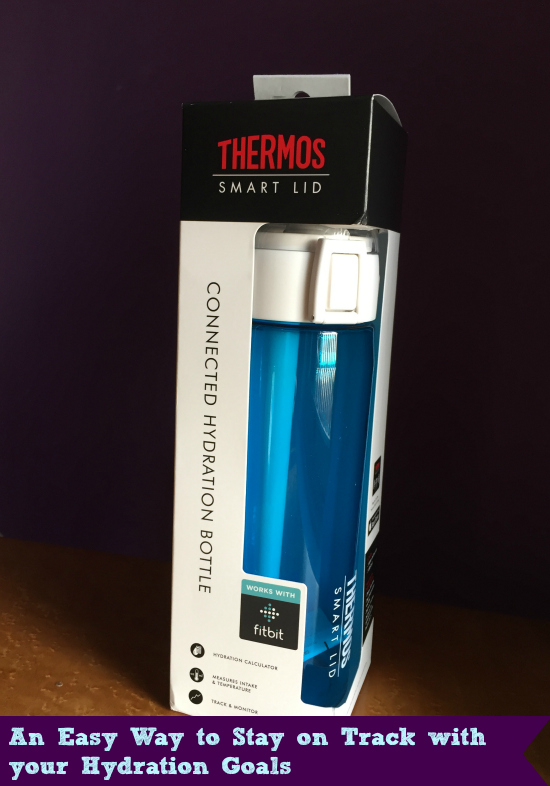 thermos connected hydration water bottle