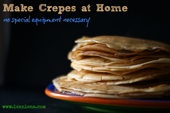 Crepes Recipe – Very Simple and Delicious