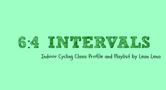 6:4 Intervals – Indoor Cycling Class Profile