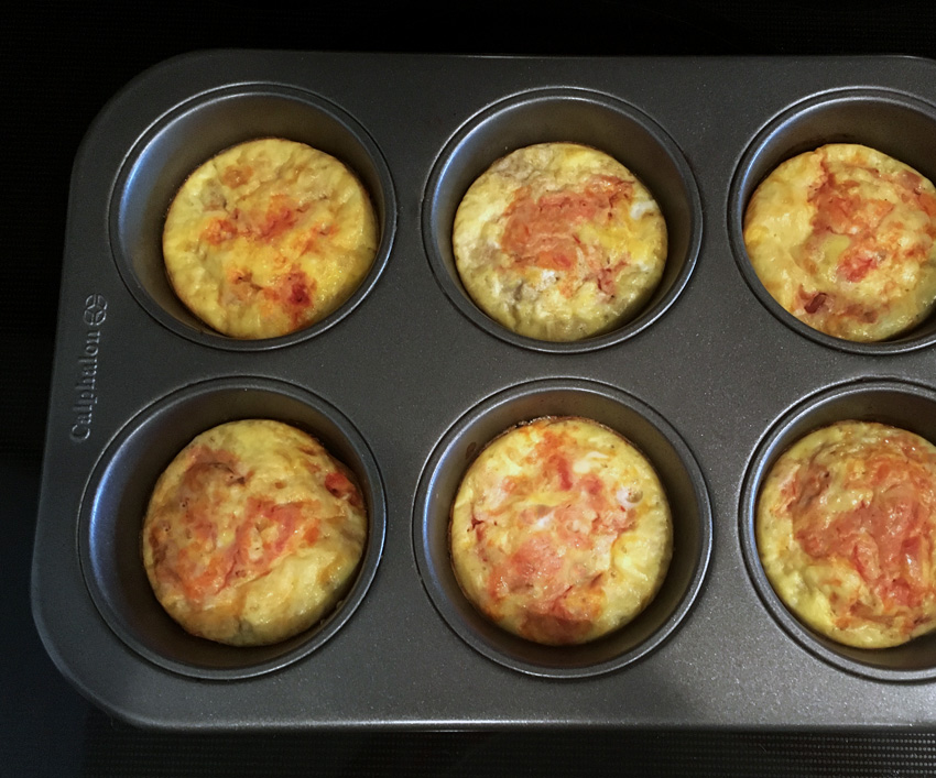 Mexican Muffin Pan Frittatas