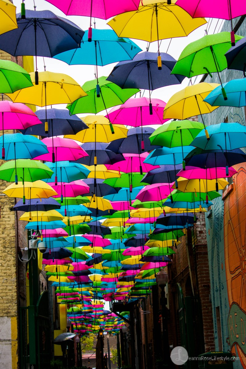 Redlands Umbrella Alley