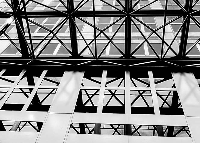 Melbourne Central Tower from Below