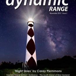Dynamic Range Magazine - Issue 2, Nov 2015 - cover  page
