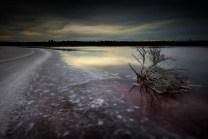 landscape-sunset-over-dry-salt-bed