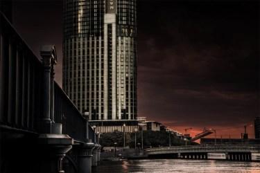 bridge-river-crowncasino-sunset-melbourne