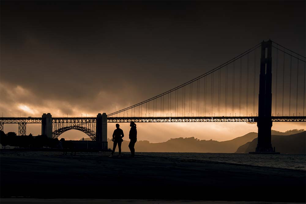 goldengate-bridge-silhouettes-sanfrancisco-sunset
