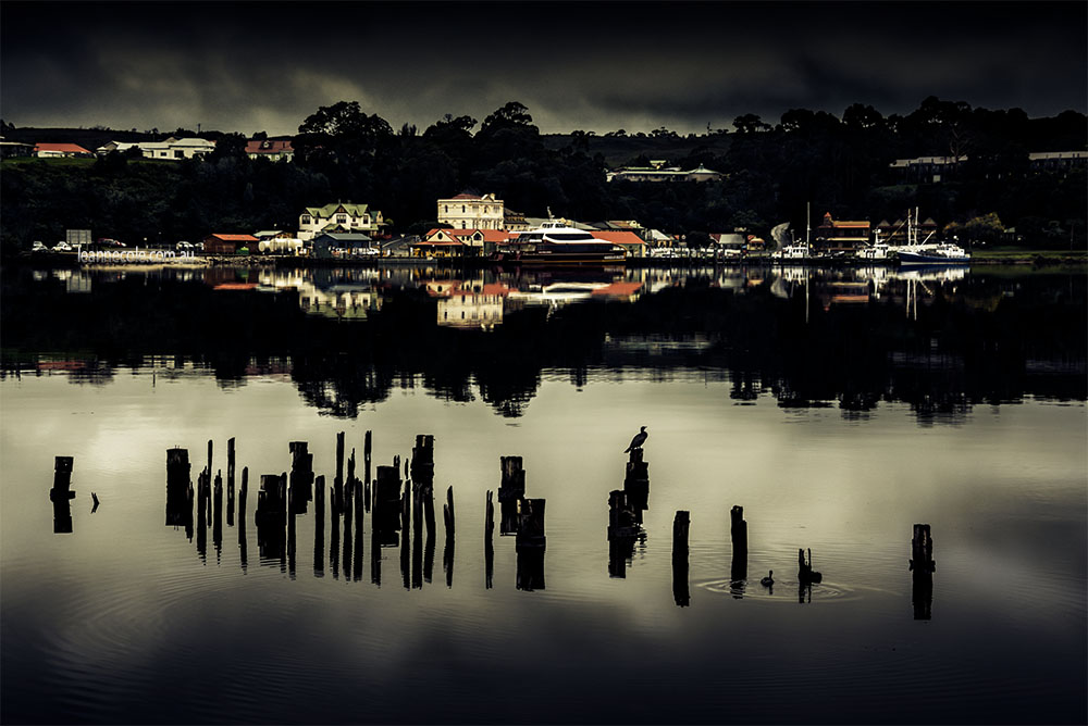 strahan-tasmania-macquarie-harbour-posts