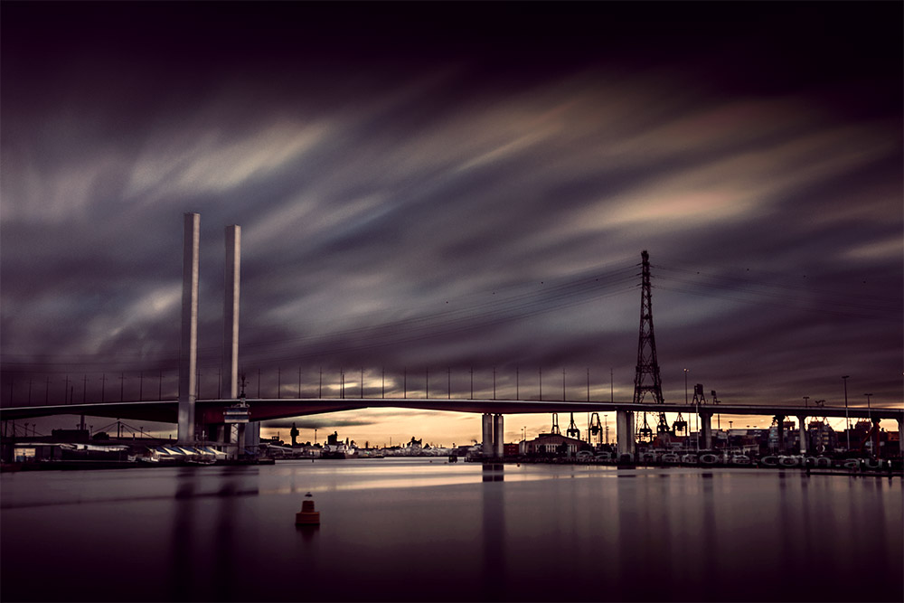 docklands-boltebridge-colour-melbourne-longexposure