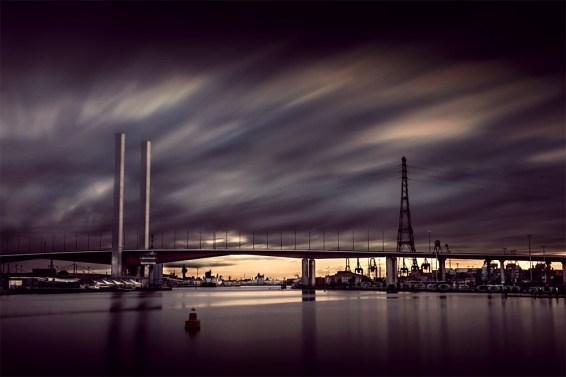 docklands-boltebridge-colour-melbourne-longexposure photo challenge 1 - Bridge