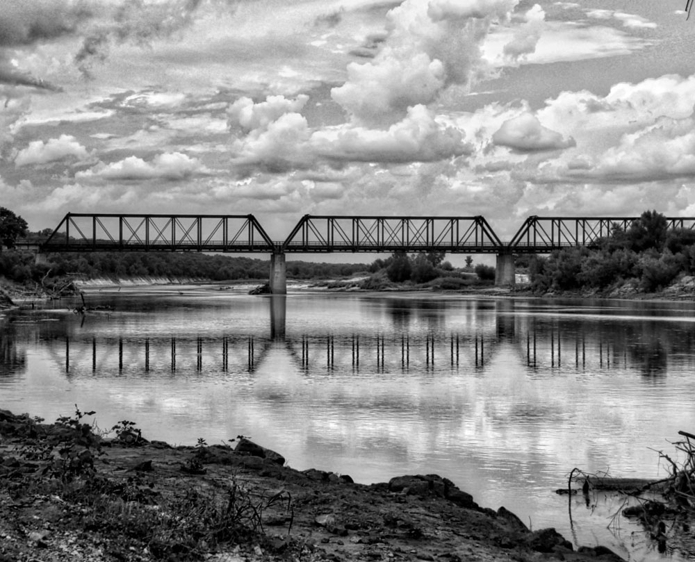 crossingtheredriver__rainydayreflections