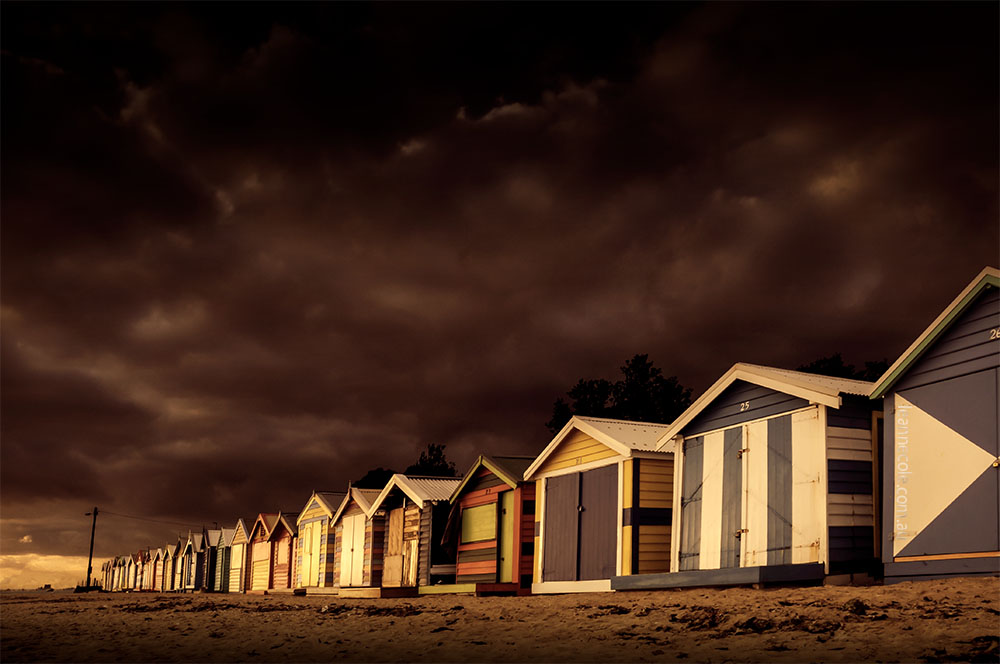 brighton-beach-boxes-afternoon-melbourne