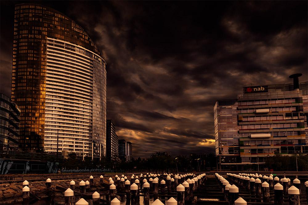 docklands-pylons-cityscape-clouds-melbourne